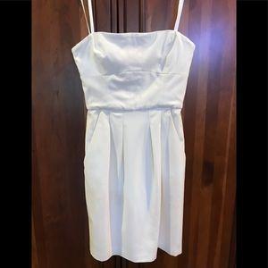 Ivory BCBG Maxazria cocktail dress